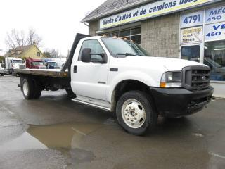 Used 2004 Ford F-450 Super Duty plate forme 13 1/2 pieds for sale in Terrebonne, QC