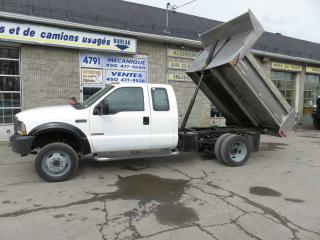 Used 2004 Ford F-550 super duty 4x4 dompeur for sale in Terrebonne, QC