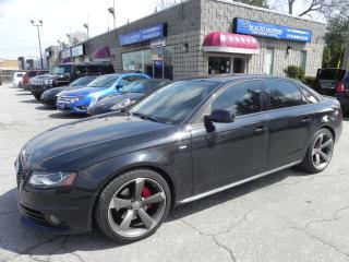 Used 2010 Audi A4 2.0T Premium * AWD * NAV  * REAR CAM * SUNROOF for sale in Windsor, ON