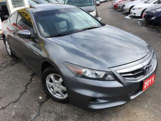 Used 2011 Honda Accord EX-L/6-SPEED/LEATHER/SUNROOF/ALLOYS/CLEAN!! for sale in Scarborough, ON
