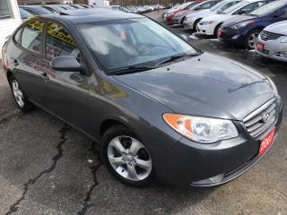 Used 2007 Hyundai Elantra GLS/AUTO/SUNROOF/ALLOYS/FOG LIGHTS/CLEAN!! for sale in Scarborough, ON