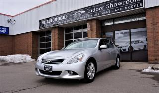 Used 2011 Infiniti G37X  LUXURY AWD BACK-UP CAMERA  LEATHER SUNROOF for sale in Mississauga, ON