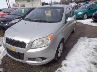 Used 2009 Chevrolet Aveo LT for sale in Oshawa, ON