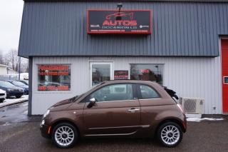 Used 2012 Fiat 500 C Lounge for sale in Saint-romuald, QC