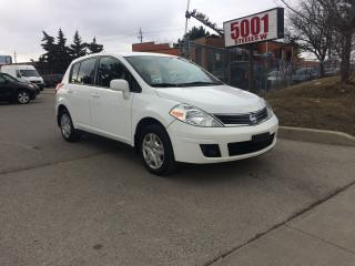 Used 2012 Nissan Versa HATCHBACK,AUTO,185K,SAFETY+3YEARS WARRANTY INCLUDE for sale in North York, ON
