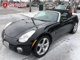 Used 2006 Pontiac Solstice CONVERTIBLE/NO ACCIDENT/CERTIFIED/WARRANTY INCL for sale in Cambridge, ON
