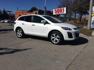 Used 2010 Mazda CX-7 GT.AWD,LEATHER,ROF,B/CAM,SAFETY+3Y WARRANTY INCLUD for sale in North York, ON