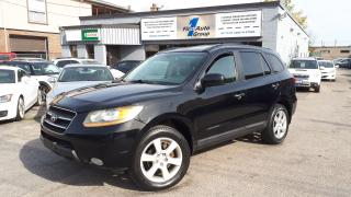 Used 2009 Hyundai Santa Fe LIMITED AWD LEATHER, P-MOON for sale in Etobicoke, ON