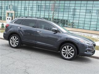 Used 2013 Mazda CX-9 GT|NAVI|DUAL DVD|REARCAM|SUNROOF|LEATHER for sale in Scarborough, ON