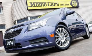 Used 2014 Chevrolet Cruze Eco! Cruise+BackUp Cam! ONLY $94/bi-weekly! for sale in St Catharines, ON