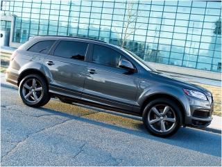 Used 2015 Audi Q7 TDI|S LINE|NAVI|REAR CAM|DUAL DVD|PANOROOF for sale in Scarborough, ON