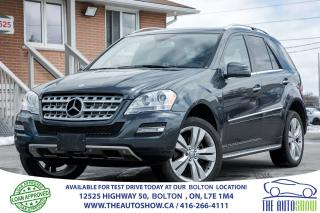 Used 2011 Mercedes-Benz ML 350 ML 350 BlueTEC for sale in Caledon, ON
