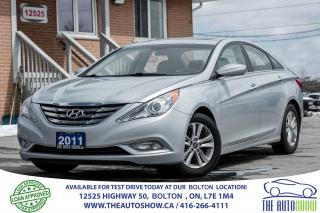 Used 2011 Hyundai Sonata GLS SUNROOF ALLOYS CERTIFIED for sale in Caledon, ON