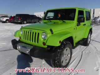 Used 2012 Jeep WRANGLER SAHARA 2D UTILITY 4WD 3.6L for sale in Calgary, AB
