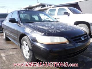 Used 2002 Honda ACCORD EX 4D SEDAN V6 for sale in Calgary, AB