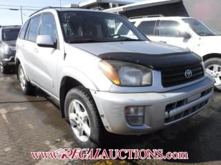 Used 2002 Toyota RAV4  4D HARDTOP AWD for sale in Calgary, AB