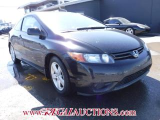 Used 2007 Honda CIVIC EX 2D COUPE for sale in Calgary, AB