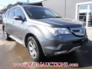 Used 2008 Acura MDX, 4D  4D UTILITY for sale in Calgary, AB