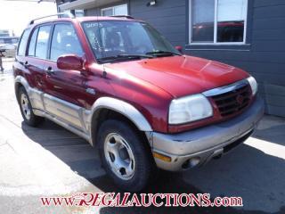 Used 2003 Suzuki GRAND VITARA  4D HARDTOP 4WD for sale in Calgary, AB