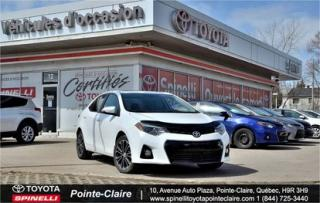 Used 2015 Toyota Corolla Sport B Pkg for sale in Pointe-claire, QC