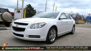 Used 2010 Chevrolet Malibu LT PLATINUM EDTN.|ALLOYS|LEATHER|SUNROOF|CERTIFIED for sale in Oakville, ON