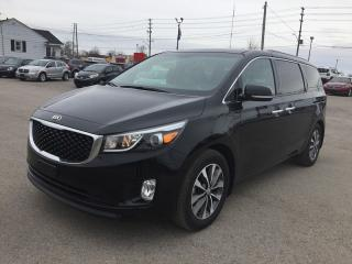 Used 2017 Kia SEDONA SX+ * LEATHER * REAR CAM * HEATED SEATS * BLUETOOTH * LOW KM * 7 PASS for sale in London, ON