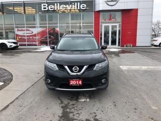 Used 2014 Nissan Rogue SV FWD. 1 OWNER LOCAL TRADE for sale in Belleville, ON