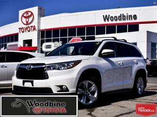 Used 2016 Toyota Highlander LTD! NAV! RUNNING BOARDS! 8 PASSENGER! for sale in Etobicoke, ON