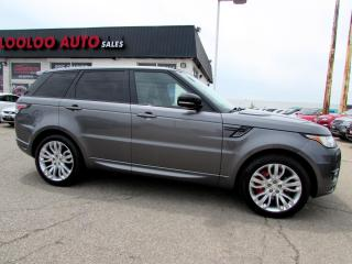 Used 2015 Land Rover Range Rover Sport SC V8 Autobiography Navigation 360 Camera Certified 2YR Warranty for sale in Milton, ON