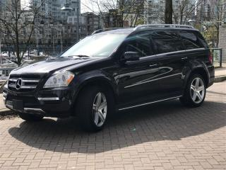 Used 2012 Mercedes-Benz GL-Class DIESEL,7 PASS,LOW KM,NAV,BACK UP CAM for sale in Vancouver, BC