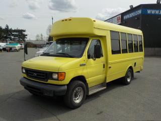Used 2006 Ford Econoline E-350 Super Duty 7 Passenger Bus Diesel with Wheelchair Accessibility for sale in Burnaby, BC