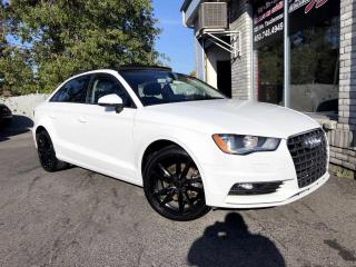 Used 2016 Audi A3 2.0T Komfort quattro berline 4 portes for sale in Longueuil, QC