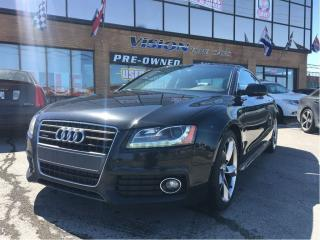 Used 2011 Audi A5 2.0T  S- LINE / PREMIUM / PADDLE SHIFTS for sale in North York, ON