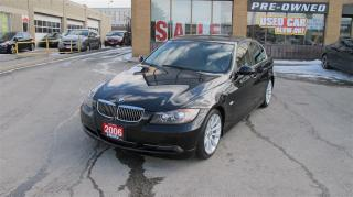Used 2006 BMW 330i i/CLEAN CAR PROOF/RARE MANUAL/SPRT PCKG for sale in North York, ON