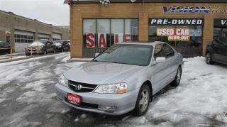 Used 2003 Acura TL 3.2/LEATHER/SUNROOF/LOW KM ! for sale in North York, ON