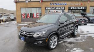 Used 2013 Volkswagen Tiguan HIGHLINE/R- LINE/PANOROOF/4MOTION/NAVIGATION for sale in North York, ON