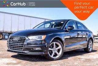 Used 2015 Audi A3 TDI Komfort|Diesel|Pano Sunroof|Bluetooth|Heated Front Seats|Leather|17