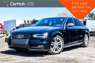 Used 2014 Audi S4 Progressiv for sale in Bolton, ON