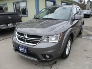 Used 2013 Dodge Journey POWER EQUIPPED SXT MODEL 5 PASSENGER 3.6L - V6.. KEYLESS ENTRY & START.. TOUCH SCREEN.. CD/AUX/USB INPUT.. for sale in Bradford, ON