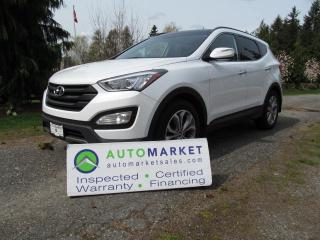 Used 2015 Hyundai Santa Fe SE, LEATHER, PANO ROOF, AWD, 2.0T, INSP, WARR for sale in Surrey, BC