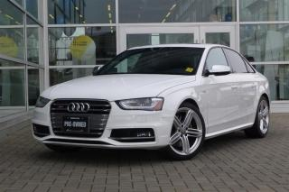 Used 2015 Audi S4 3.0T Technik quattro 7sp S tronic Low Kms/Loaded for sale in Vancouver, BC