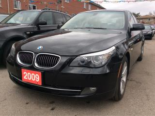 Used 2009 BMW 5 Series 528i/Bluetooth/Leather/Sunroof/EXTRA CLEAN!!! for sale in Scarborough, ON