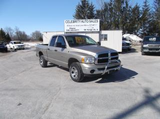 Used 2005 Dodge Ram 1500 SLT 4X4 4 DOOR for sale in Elmvale, ON
