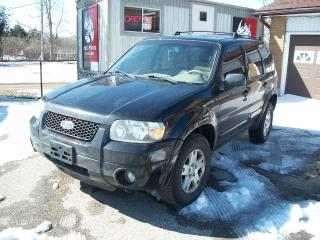 Used 2006 Ford Escape Limited for sale in Cambridge, ON