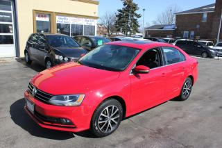 Used 2015 Volkswagen Jetta Comfortline Sunroof Alloy for sale in Brampton, ON