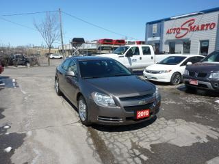 Used 2010 Chevrolet Malibu LT PLATINUM EDITION WITH REMOTE STARTER for sale in Kitchener, ON