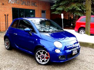 Used 2014 Fiat 500 Sport Half Leather NEW TIRES + BRAKES Cert for sale in Concord, ON