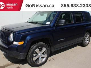 Used 2017 Jeep Patriot HIGH ALTITUDE 4X4, LEATHER, SUNROOF, HEATED SEATS! for sale in Edmonton, AB