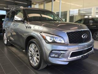 Used 2017 Infiniti QX80 TECH, NAVI, AWD, ACCIDENT FREE for sale in Edmonton, AB