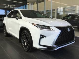 Used 2016 Lexus RX 350 F SPORT, NAVI, ACCIDENT FREE for sale in Edmonton, AB